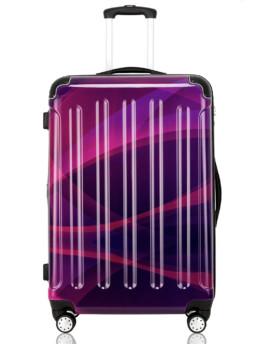Cab Köpenhamn resväska i flerfärgad lila