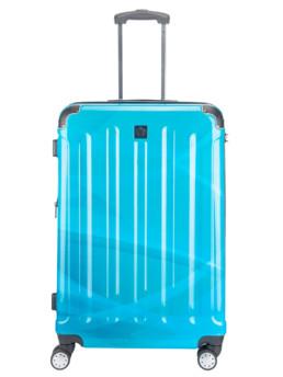 Cab Köpenhamn resväska i blå flerfärgad