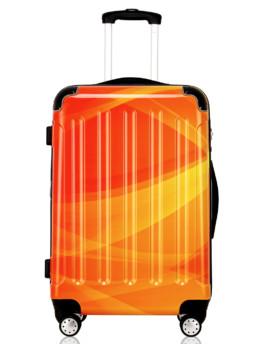 Cab Köpenhamn resväska i flerfärgad orange