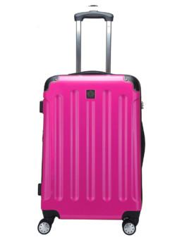 Cab Köpenhamn resväska i färg met fuxia