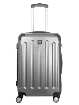 Cab Köpenhamn resväska i färg silver carbon